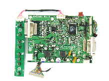 Daisy-chaninable DVI Controller Board